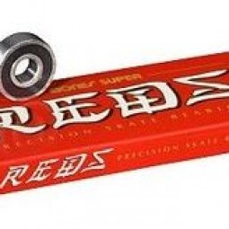 40 mm x 80 mm x 27 mm C0r Loyal Bones Super REDS Bearings Skateboard Bearings
