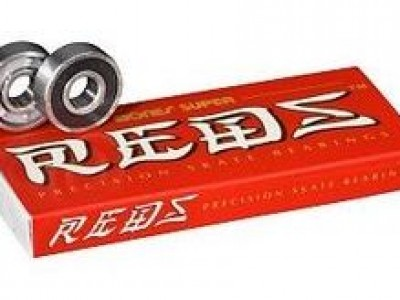 12 mm x 37 mm x 12 mm a Loyal Bones Super REDS Bearings Skateboard Bearings