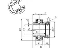 75 mm x 115 mm x 20 mm Weight SNR EX218G2 Deep Groove Ball Bearings